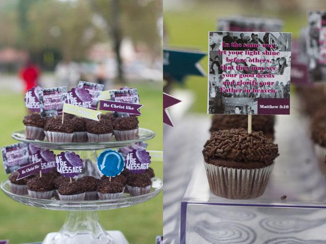 BTM Ministry Verse cupcakes