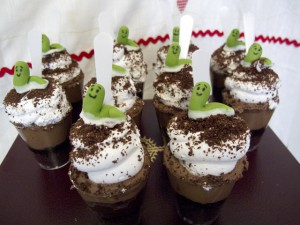 Nutella Dirt Cups