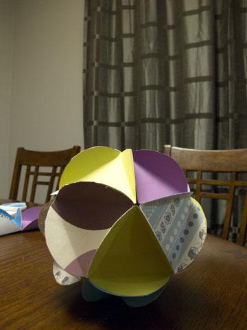 diy modern paper globes final