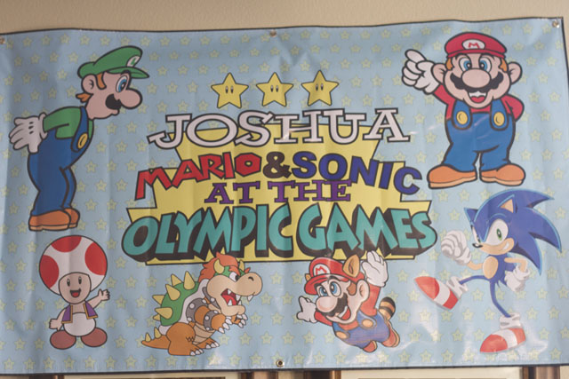 mario and sonic a the olympic games by Jah Screen
