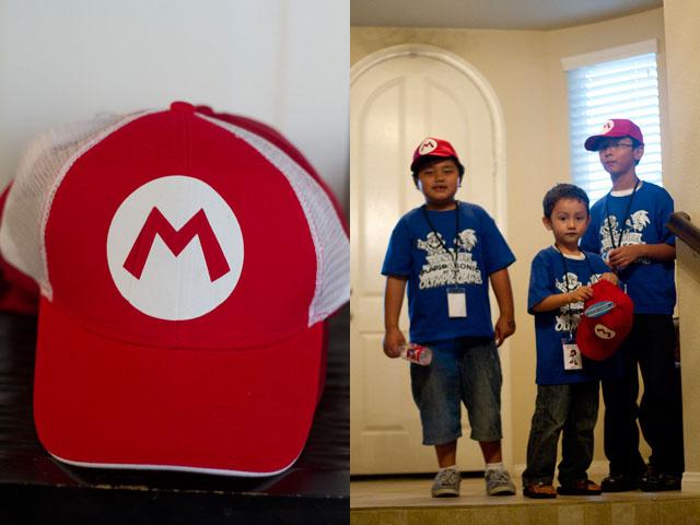 mario bros hats by Jah Screen