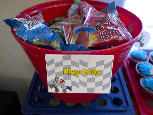 super mario ring pops