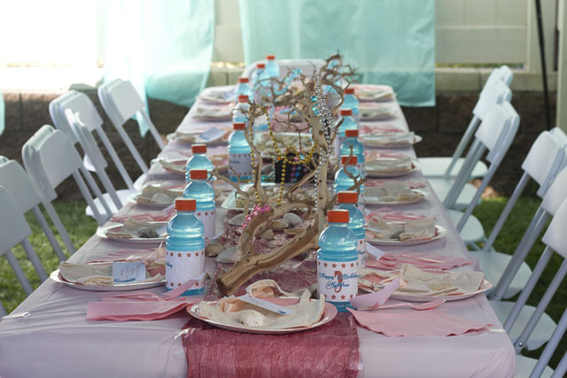 under the sea party table decorations