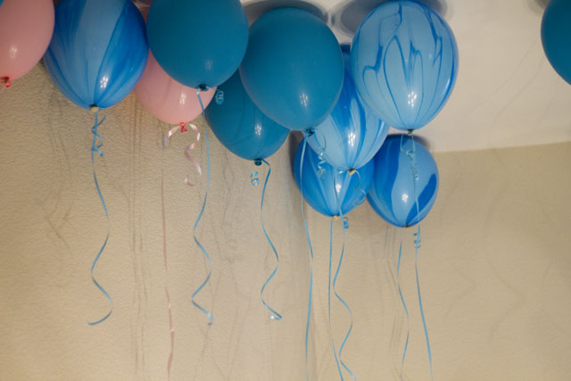 under the sea party balloons