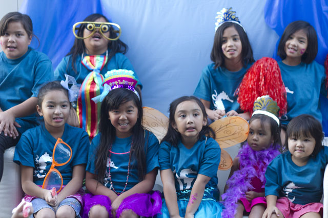 under the sea party photobooth