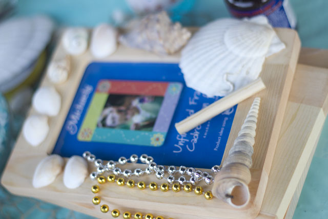 under the sea party craft - frame design