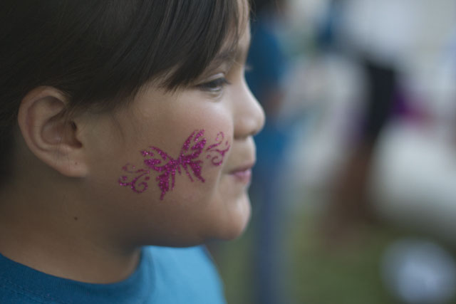 under the sea party face painting