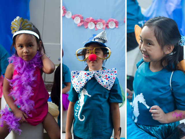 under the sea party photobooth fun