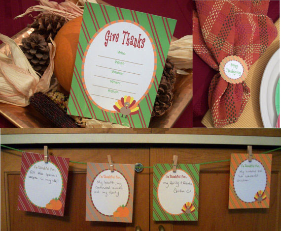 thanksgiving give thanks printables