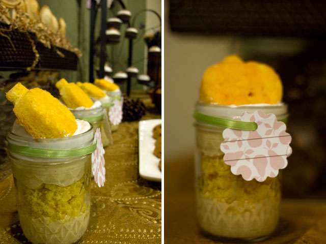 """""""give thanks"""" thanksgiving pumpkin mousse trifle with gingerbread crumbs"""