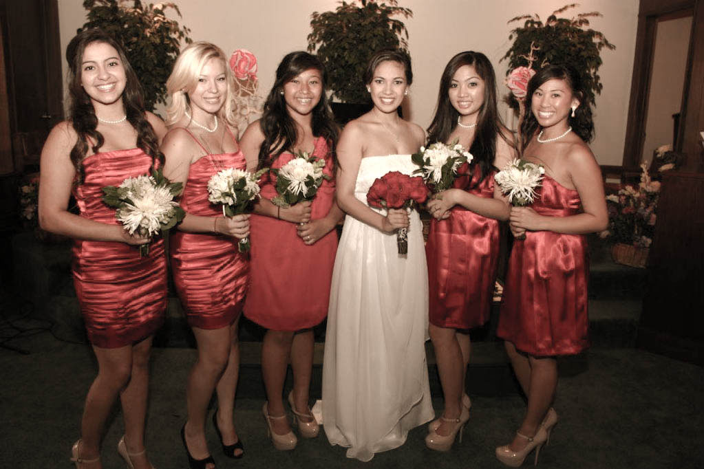 heart to heart wedding party