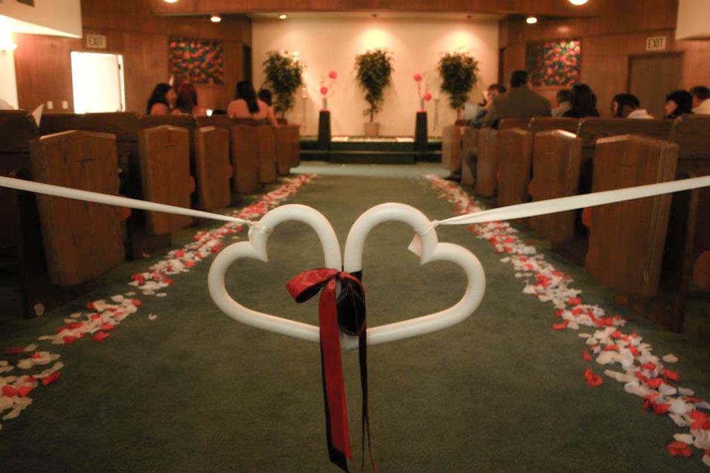 heart to heart wedding ceremony