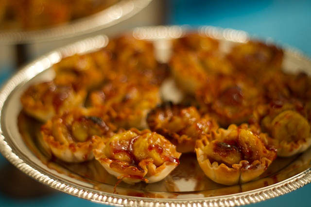 turon (sweet banana) tarts