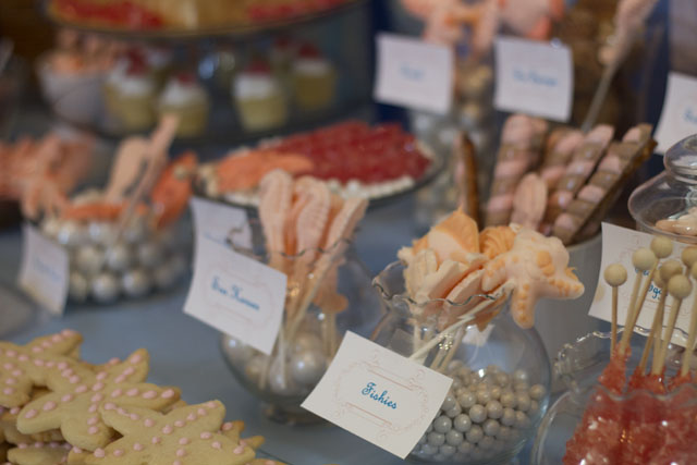 under the sea assorted candy