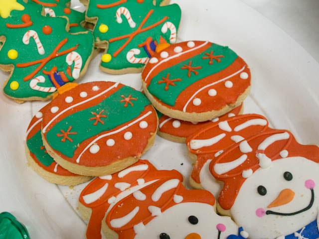 winter candyland cookies