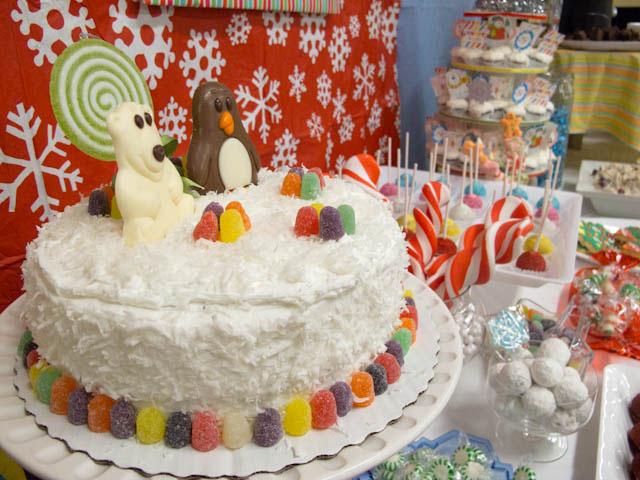 winter candyland desserts
