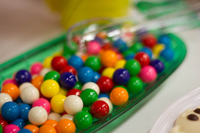 winter candyland gum balls