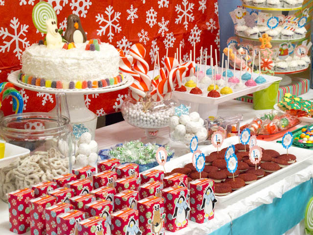 Winter Candyland 1st Birthday