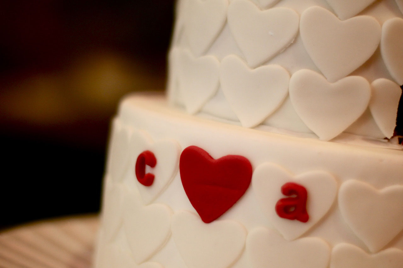 """Heart to Heart"" Wedding"