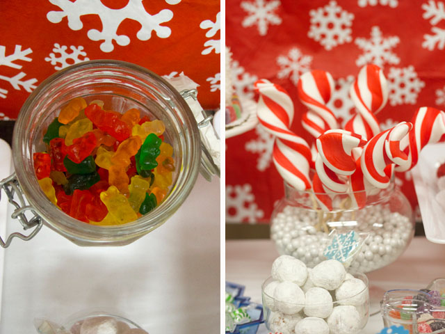 candy and gummy bears