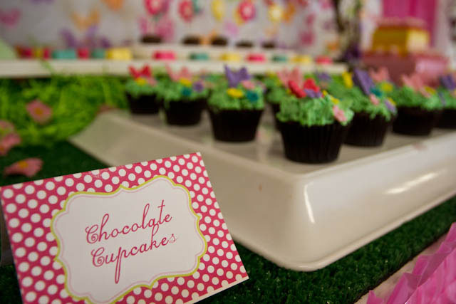 butterfly chocolate cupcakes