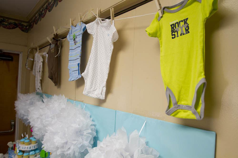 april showers clothesline