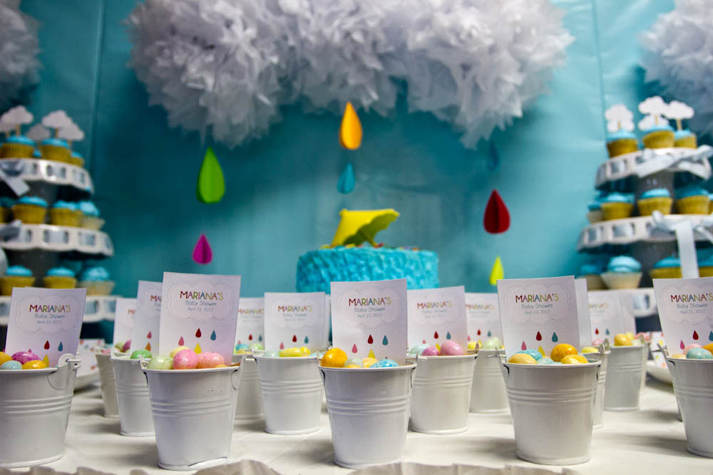 april showers jelly bean favor pails