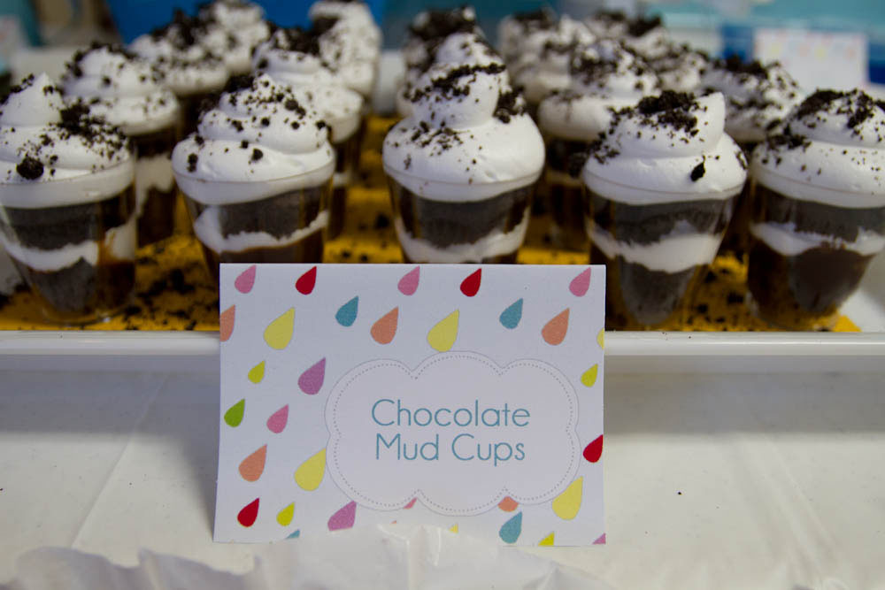 april showers chocolate trifle mud cups