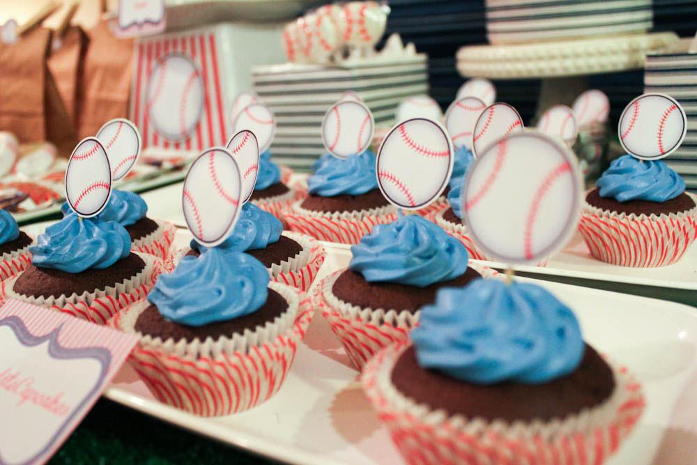 Baseball Dessert Table