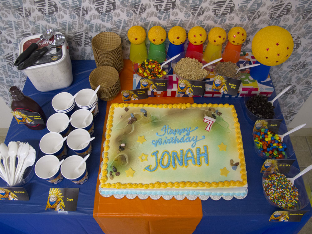 Dragon Ball Z Birthday Decorations Home Image Ideas