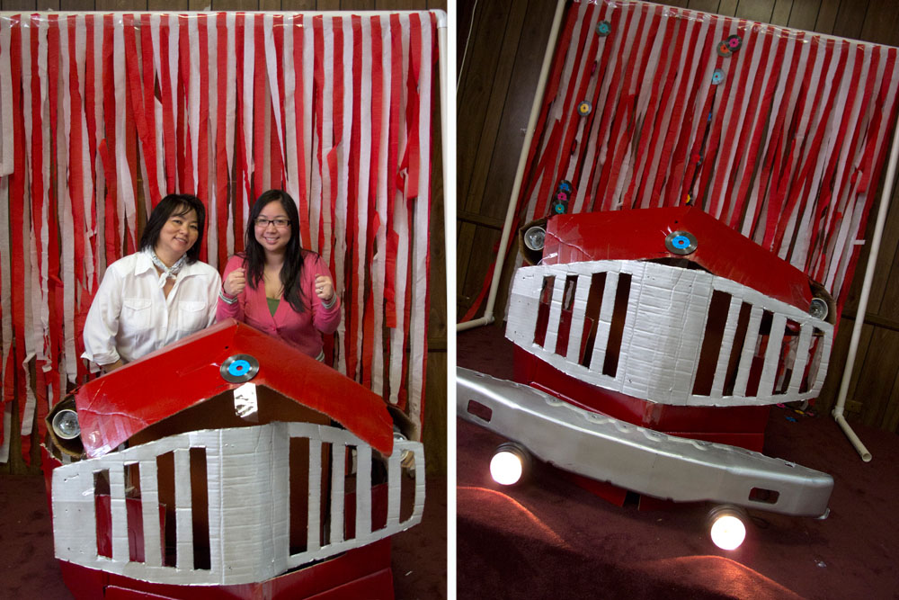 1950s themed Mother's Day Brunch photobooth