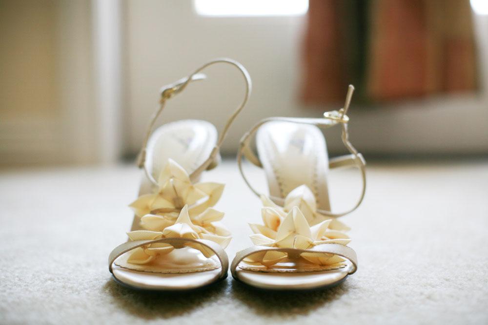 Cherry Blossom Wedding shoes