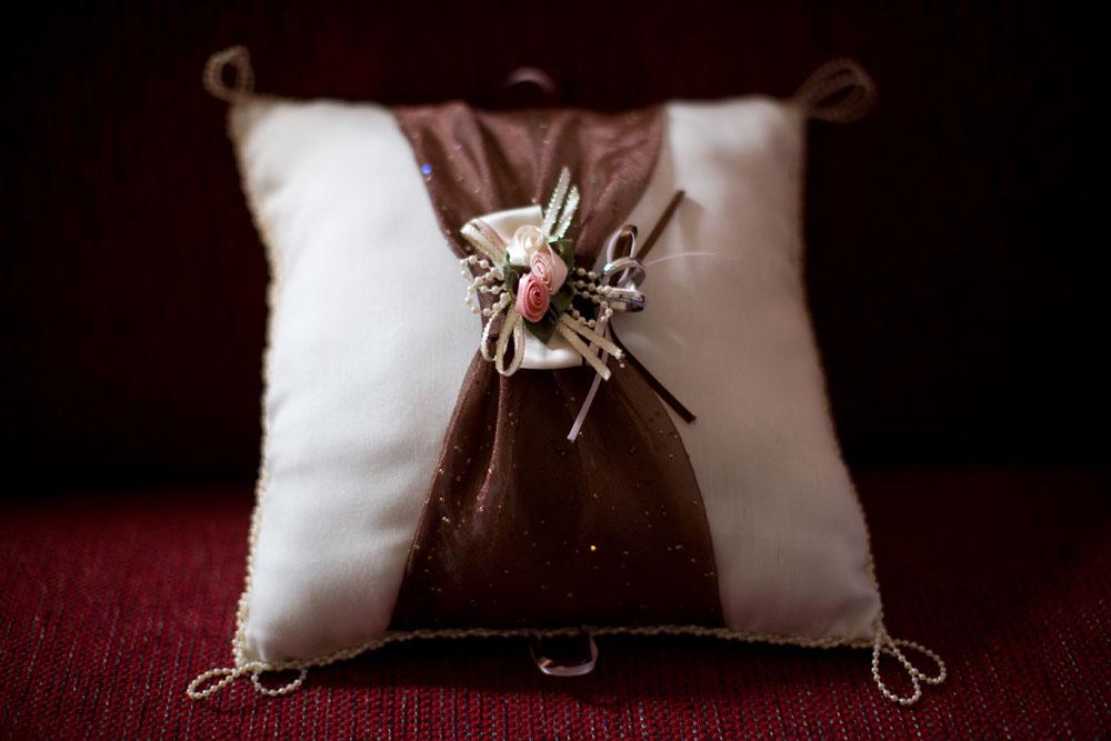 Cherry Blossom Wedding ring pillow