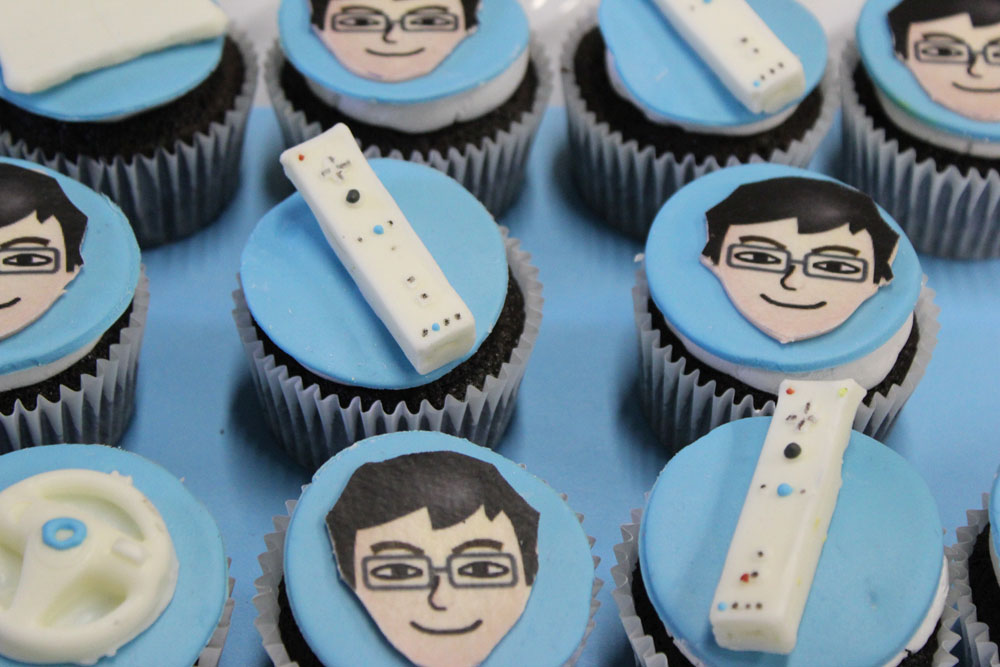 nintendo wii cupcake toppers
