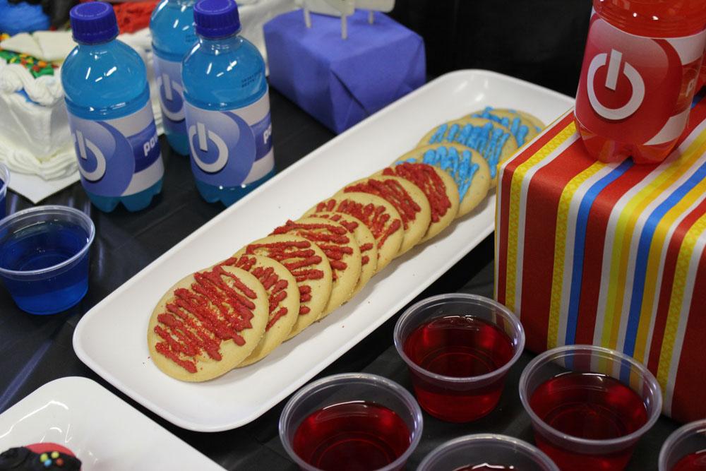 sugar cookies and jello