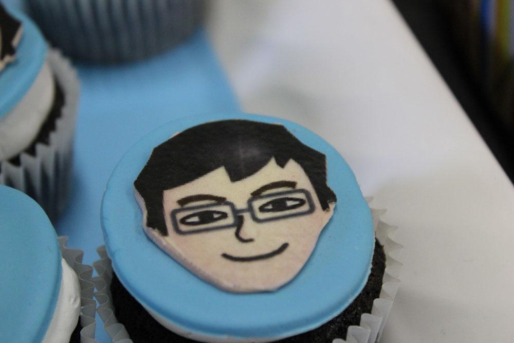 mii cupcake topper
