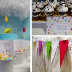 FREE April Showers Party Printables