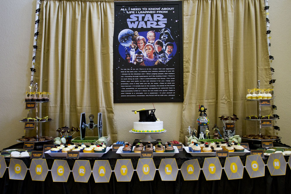 """Star Grad"" – Star Wars Dessert Table"