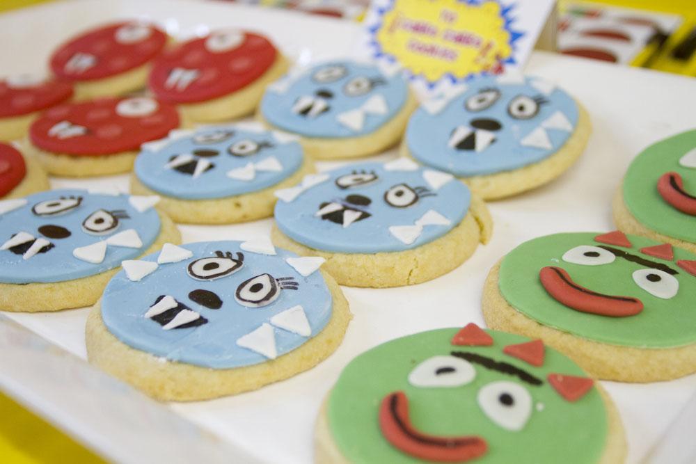 yo gabba gabba cookies