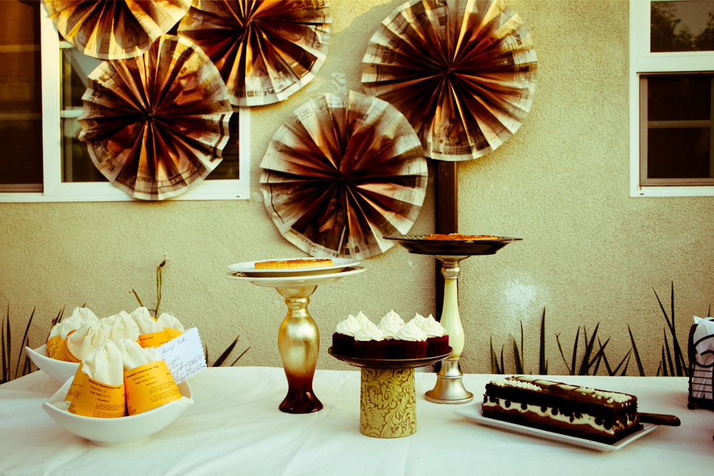 Vintage Housewife dessert table