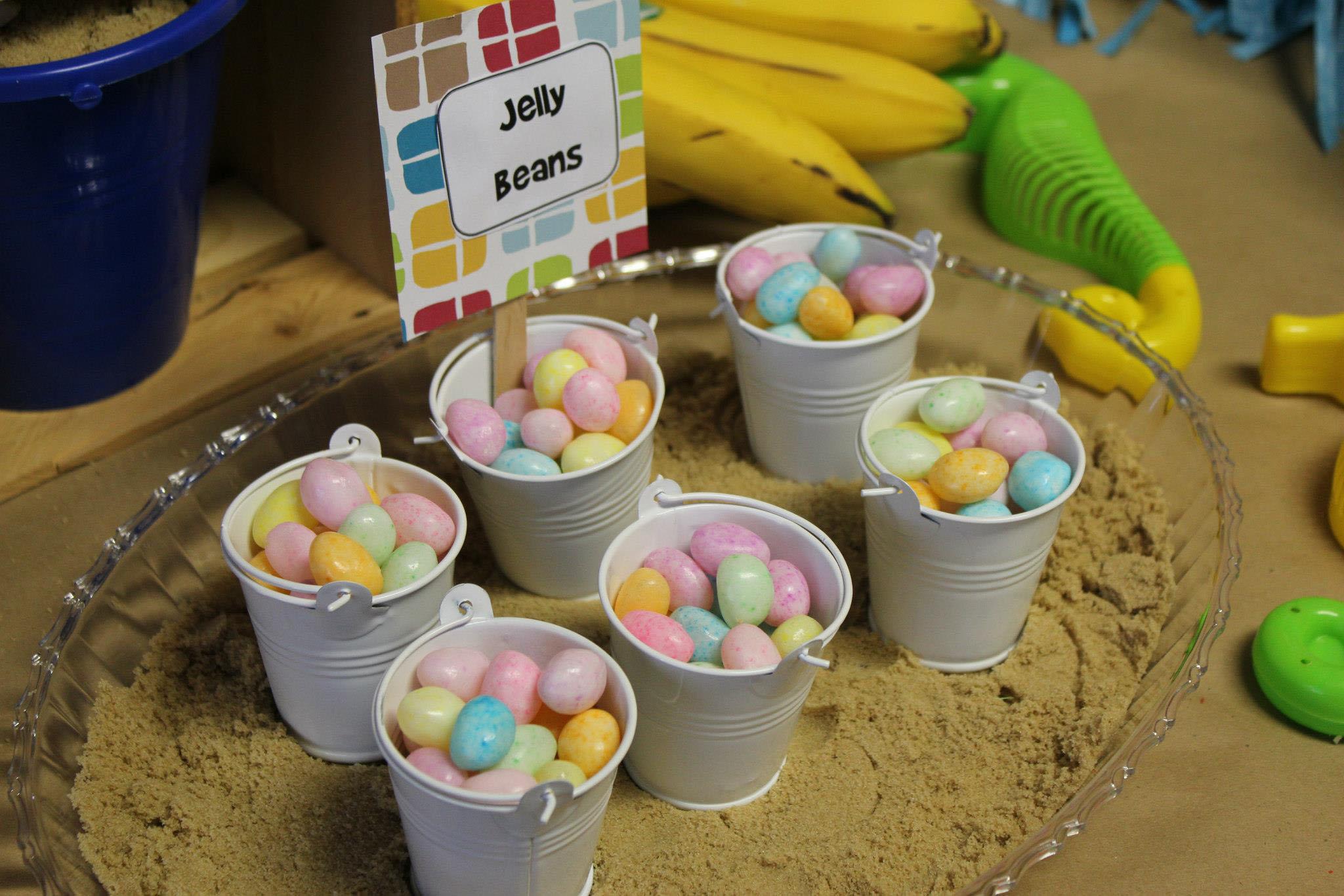 Luau Ice Cream Bar Mini Pails