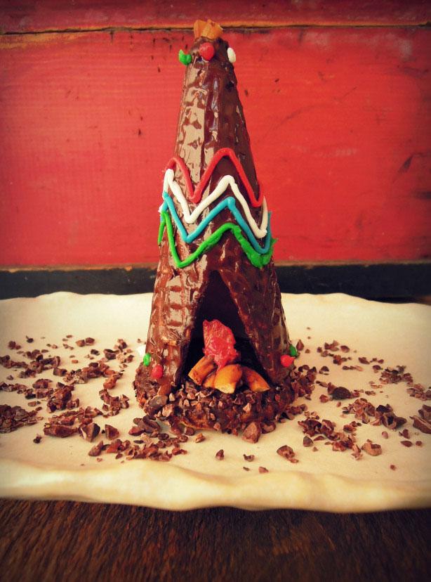 chocolate teepee
