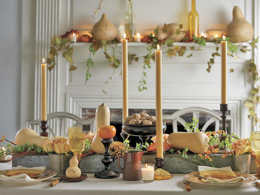 timeless tradition thanksgiving table setting