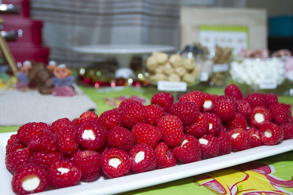 jingle with joy raspberry bites