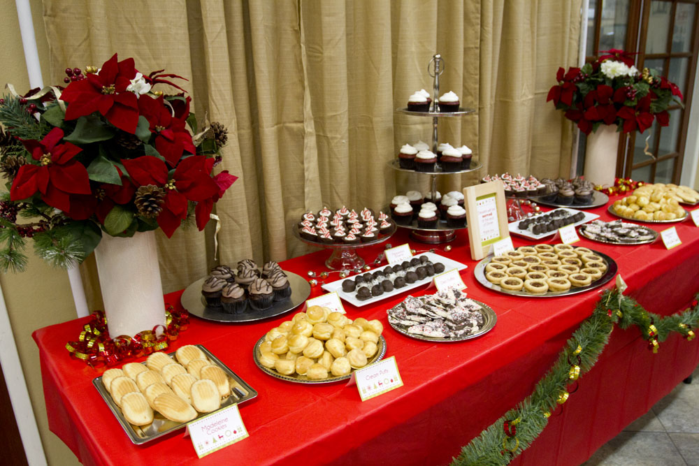 medical missions dessert table