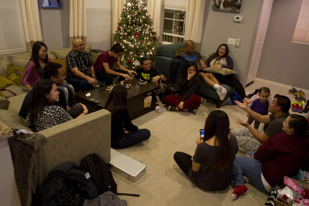Christmas Sock Exchange Fun