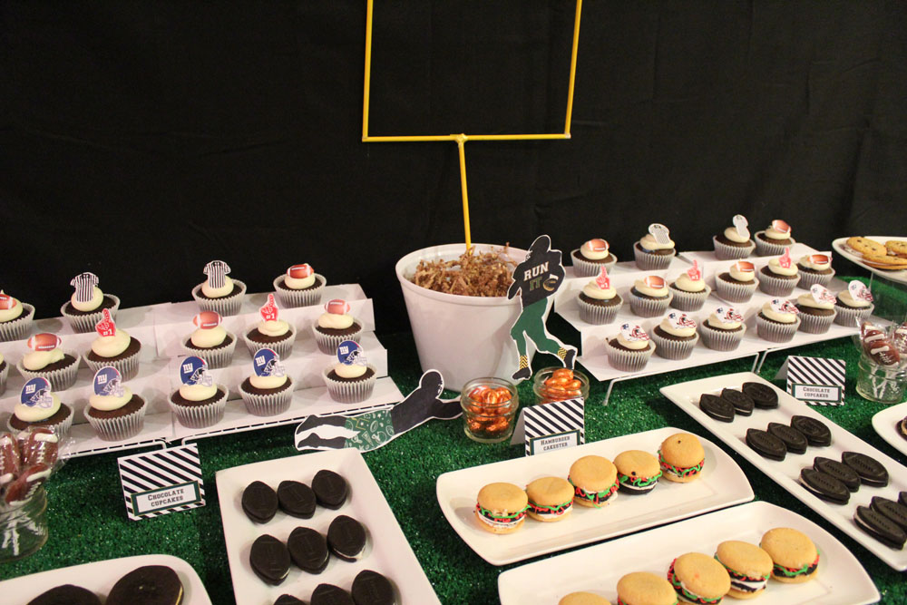 Football Dessert Table004