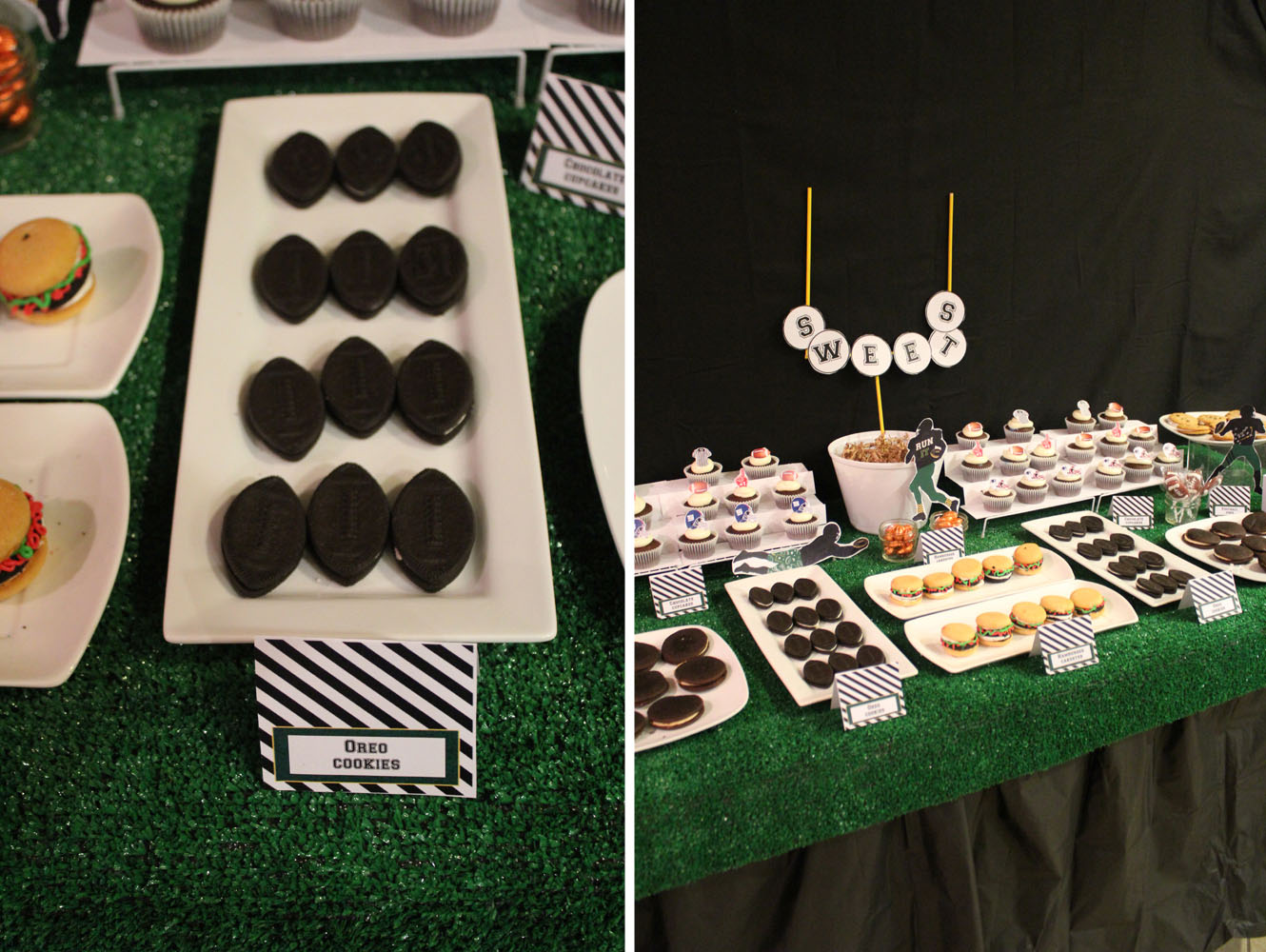 Football Dessert Table020