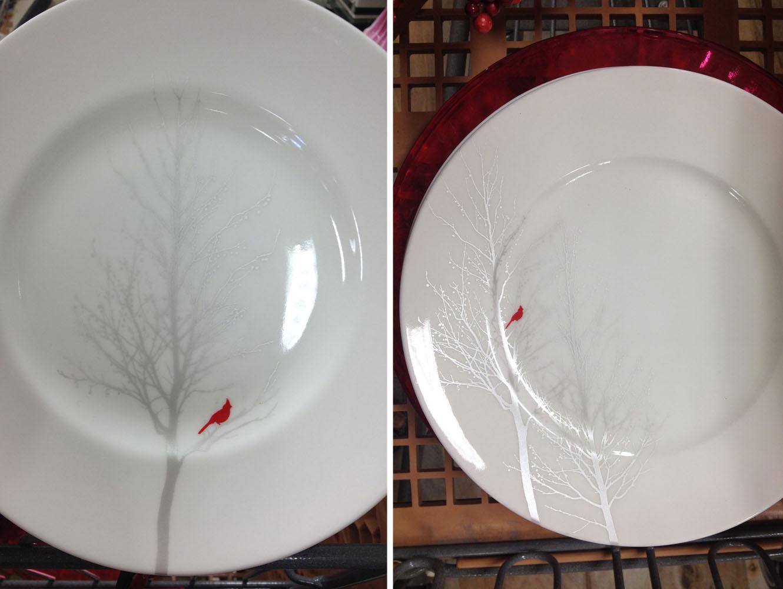 rustic modern dinnerware