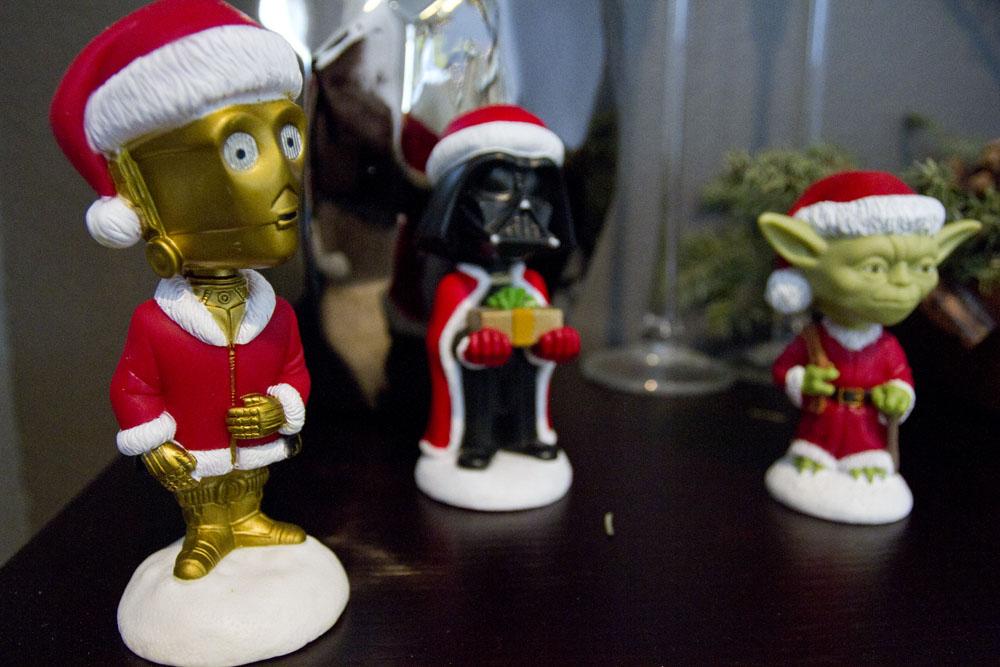 star wars santa bobbleheads